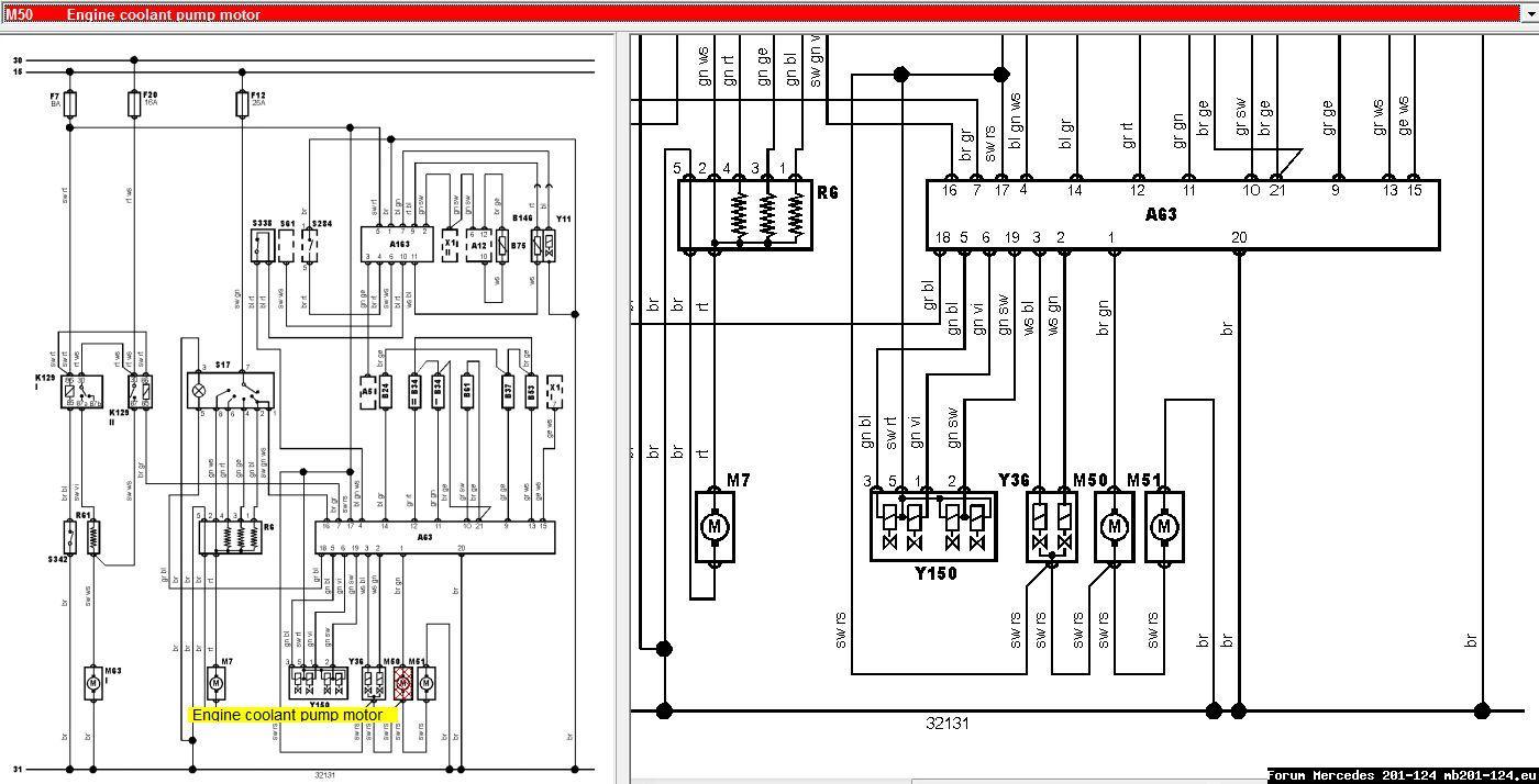 Wiring Diagram Mercedes W124 House Symbols 1981 300d Przywr U00f3cenie Do U017cycia Klimatyzacji Niedzia U0142aj U0105cy Motorek Pompy Ch U0142odziwa Forum Benz Radio For 2013